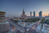 Warsaw Center view, with no recognizable logos. - 171184682