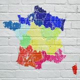Street art, la France grunge multicolore  - 171186663