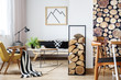 Cozy trendy winter interior design