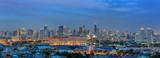 Panorama Bangkok city.