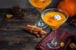 Pumpkin Pie Cocktail Margarita