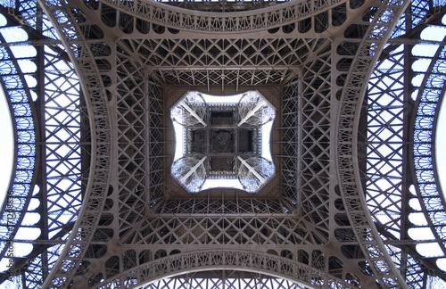 Fotobehang Eiffeltoren Eifelturm Paris am Tag