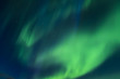 Incredibly bright Aurora borealis (Northern lights)  over the Iceland