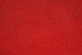 Red felt table surface extremal close up - 171228863