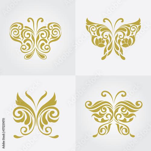 butterfly logo - 171231470