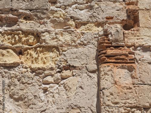 Fotobehang Stenen stone wall background