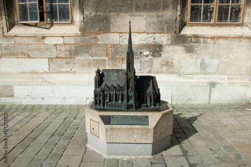 St Stephen Cathedral Statue - Vienna - Austria