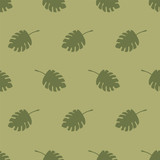 seamless leaf pattern - 171259659