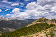 Mountain peaks of the Rocky Mountains. Colorado State, USA