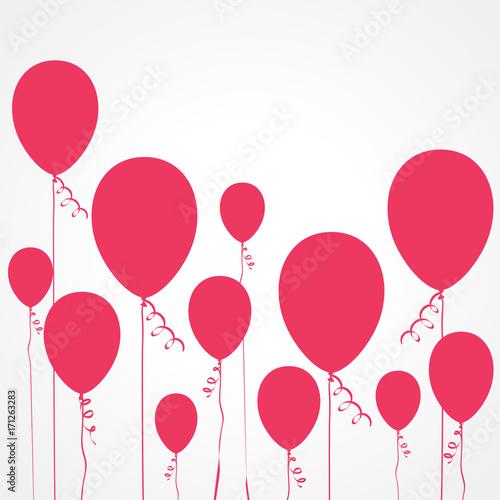 Staande foto Bol fond abstrait ballon