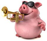 Fun pig - 3D Illustration - 171265863