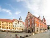 Gotha Marktplatz mit Rathaus