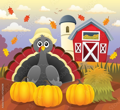 Aluminium Voor kinderen Thanksgiving turkey topic image 4