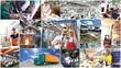 Industrie, Handel und Handwerk: Arbeiter ind Gewerbe
