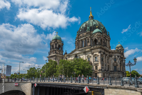 Foto op Aluminium Berlijn Berlin Cathedral or Berliner Dom, Germany