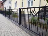 Gartenzaun in schwarz - 171300607
