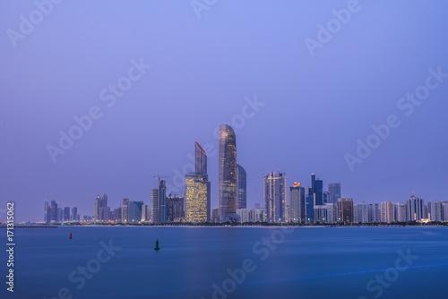 Papiers peints Abou Dabi Abudhabi Skyline