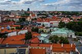 Panorama of Vilnius city, Lithuania