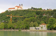 coastline of lake Balaton in Tihany