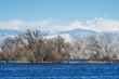 Barr Lake State Park - Winter Scene
