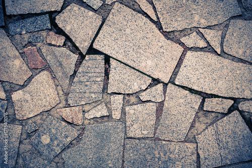 Fotobehang Stenen stone mosaic