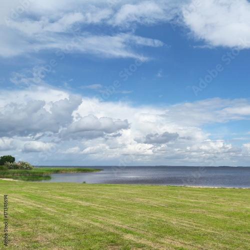 Lake Peipsi Estonia countryside