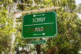 Schild 264 - Scharf - 171357069