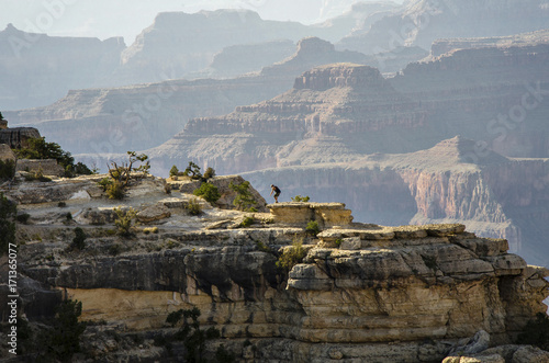 Papiers peints Taupe The Grand Canyon