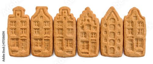 Foto op Plexiglas Amsterdam Biscuits hollandais / Dutch cookies