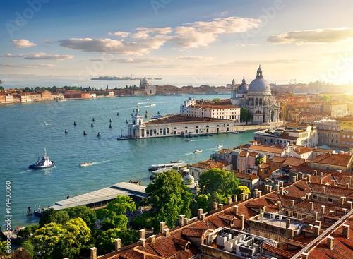 Foto op Plexiglas Venetie Panoramic aerial view of Venice