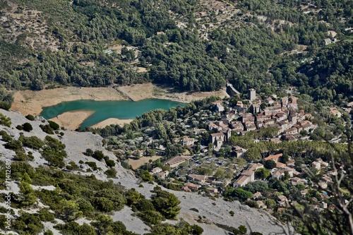 Fotobehang Donkergrijs Mont Caume Toulon