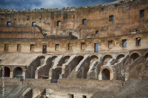 Foto op Plexiglas Rome Rome Colosseum 100