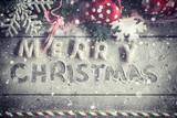 Merry Christmas gingerbread cookies - 171423609