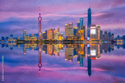 Fotobehang Shanghai Shanghai China Cityscape