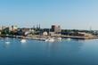 Charlottetown centre and marina
