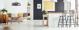 Simple sofa and kitchen island - 171450274