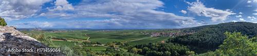 Foto op Aluminium Panoramafoto s Panoramaausblick von der Battenburg