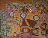 aboriginal style - dot painting