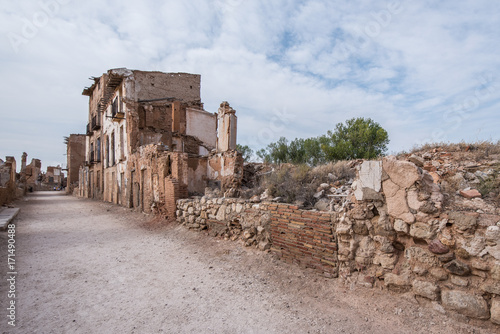 Belchite is a municipality of the province of Zaragoza, Spain. It is known for having been a scene of one of the symbolic battles of the Spanish Civil war, Belchite's battle.