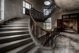 Staircase with Handrail