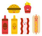 Fast Food Emojis