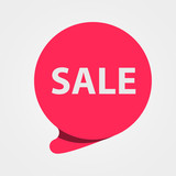 Special offer sale red tag. Discount, offer price label, symbol for advertising campaign. Sale sticker. - 171497696