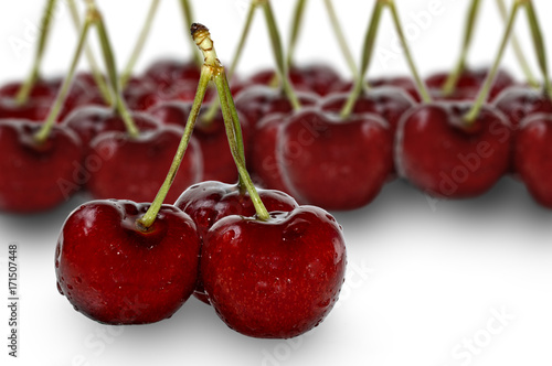 Aluminium Kersen Three Cherries