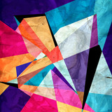 Abstract bright geometric background - 171521268
