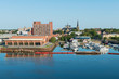 Charlottetown centre and marina