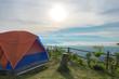 Tour tents camp