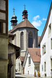 Street view of OLD Town Fribourg