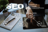 SEO. Search Engine optimization. Digital online marketing andInetrmet technology concept.? - 171544645