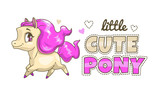 Little cute pony patch.