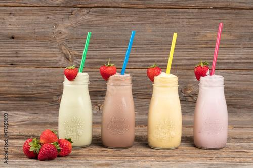 Foto op Canvas Milkshake Milchshakes
